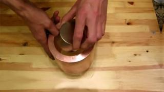 Dropping a Magnet Through a Copper Tube