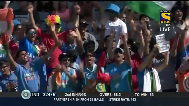 All Biggie Sixes by India on Day 4 - India vs NZ 2014 1st Test Day 4 Video