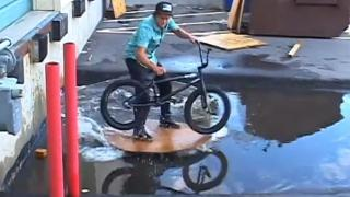 The Most Creative BMX Rider - Is This The Most Creative BMX Bike Rider On Earth?