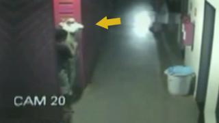 Burglar Caught On Camera Molesting Mannequin