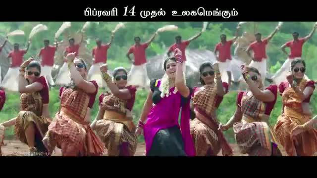 Ithu Kathirvelan Kadhal - Sara Sara Saravedi Song Teaser (Tamil)