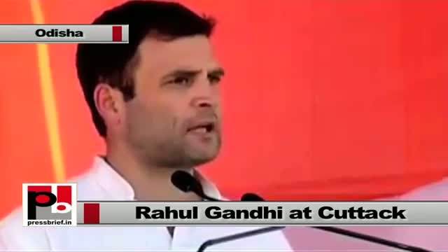 Rahul Gandhi: Bring a government of poor, tribal and common man