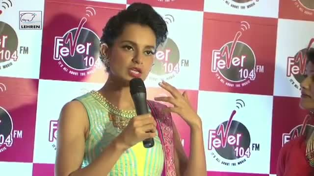 Kangana Ranaut Promotes Queen At Fever 104 Radio Station