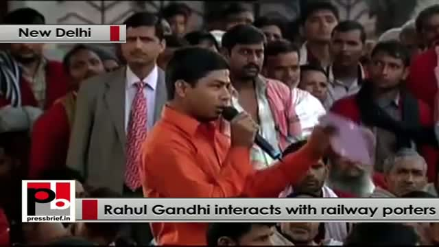 "Rahul Gandhi: ""I want to hear you out everyone"""