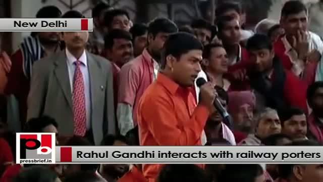 "Rahul Gandhi: ""We should take steps to empower you"""