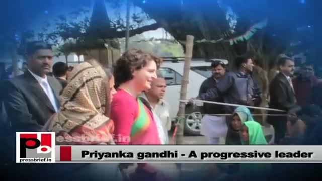 Priyanka Gandhi Vadra: Leader for the masses by the masses