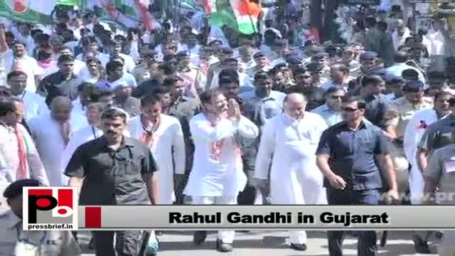 Rahul Gandhi : BJP represents RSS ideology which has killed Mahatma Gandhi