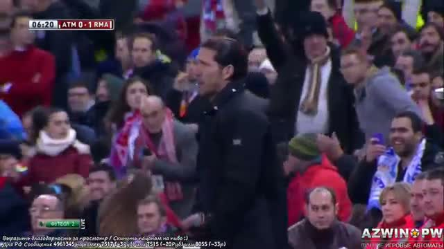 Atletico Madrid vs Real Madrid 0-2 - Cristiano Ronaldo Penalty Goal vs Atletico 2/11/2014 [HD]
