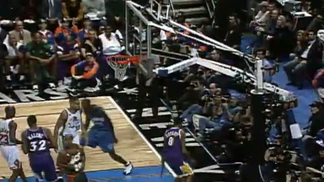 NBA Top 10 All-Time Alley Oops in All-Star Game History