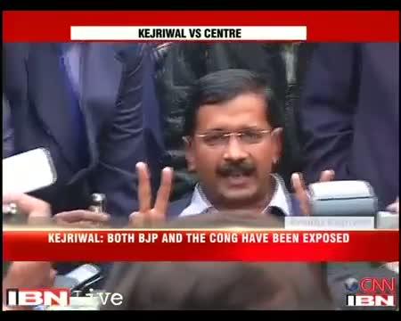 Kejriwal adamant on Jan Lokpal, blames Congress, BJP for disruption Video