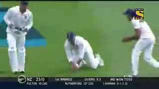 Sir Ishant Sharma on fire 5 Wicket Haul India vs NZ 2nd Test Day 1