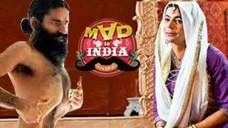 Baba Ramdev on Sunil Grover's Mad in India 16th February 2014 Video
