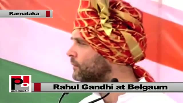 Rahul Gandhi: We do not need an India where a handful of people become rich