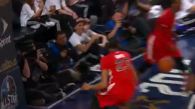 NBA: Anthony Davis Drops a Duo of Nice Alley-Oop Finishes