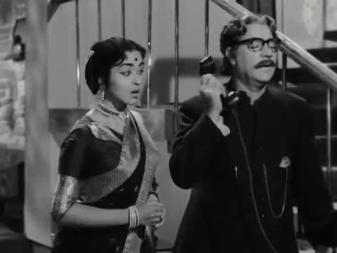 Utha Arjun Dhanush Utha - Superhit Classical Hindi Song - Sunil Dutt, Saroja Devi - Beti Bete (1964)