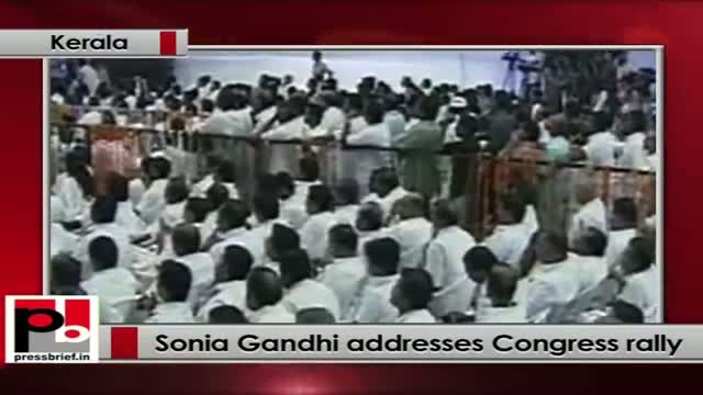Sonia Gandhi: We speak the value and traditions of our society