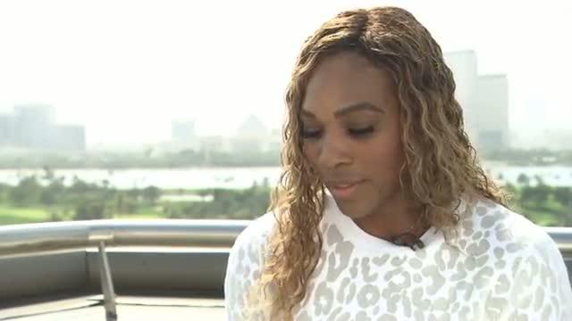 Serena Williams 2014 Dubai Duty Free Tennis Championships Preview Interview