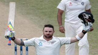 Brendon McCullum becomes first New Zealander to score 300 in a Test