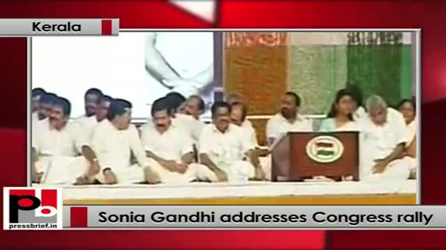 Sonia Gandhi: The Congress party stands for democracy, diversity, development