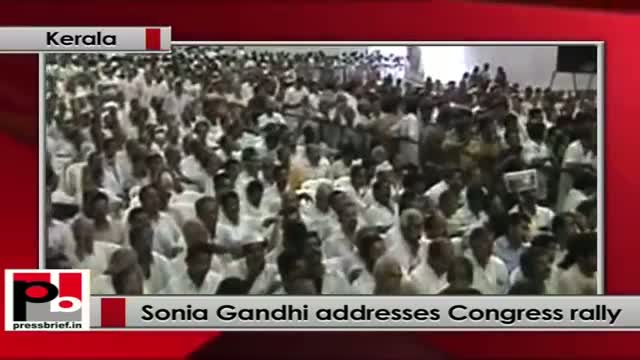 Sonia Gandhi: Under UPA we had unprecedented economic growth