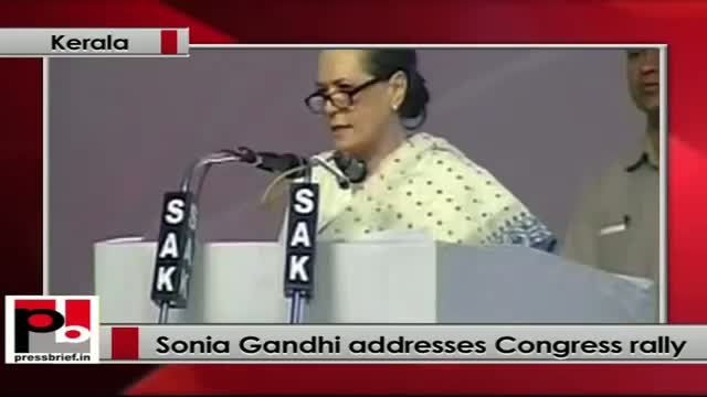 Sonia Gandhi: BJP is stalling the parliament, not letting important bills passed