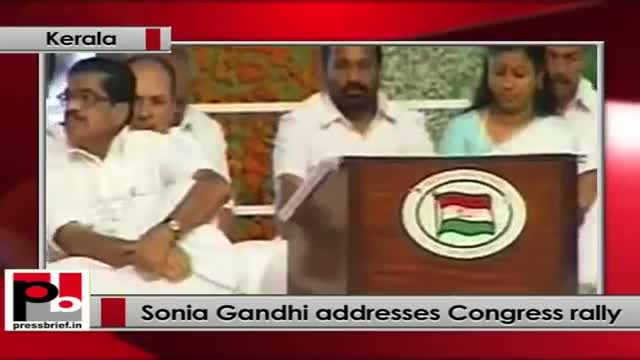 Sonia Gandhi: We now have record production of food grains
