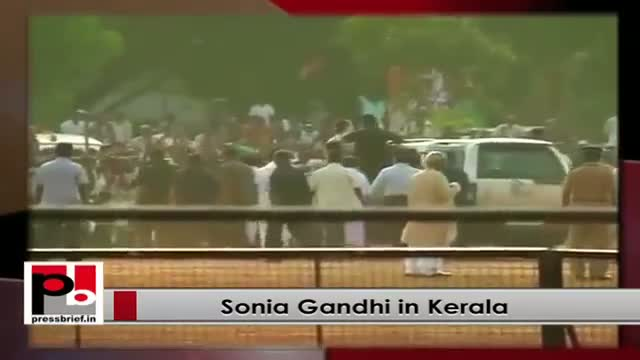 Sonia Gandhi: Congress ideology binds people together, while BJP divides society