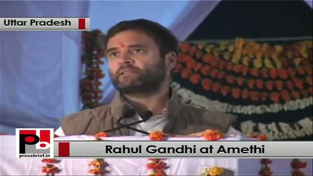 Rahul Gandhi lays foundation stone of Rail Neer Bottling plant