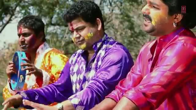 holi video song bhojpuri