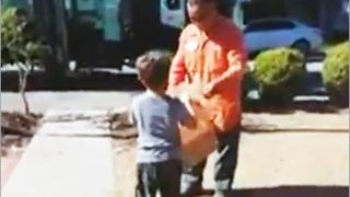 Boy With Autism Gets Surprise Gift From Trash Man!