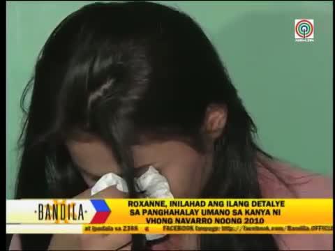 Roxanne Cabanero claims she was raped by Vhong Navarro