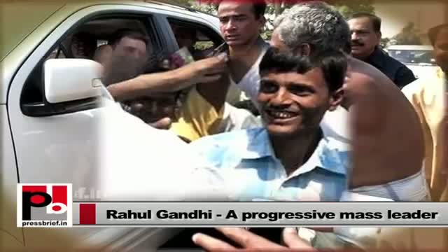 Rahul Gandhi: A polite leader with big vision