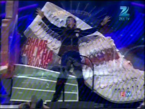Zee Cine Awards 2014 - Shah Rukh Khan Performance On Bhag Milkha Bhag Song - 23rd February 2014