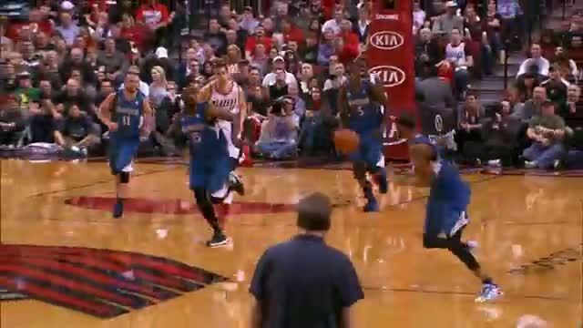 NBA: Thomas Robinson: Block of the Year!?!?