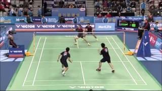 Korean Open 2014 Top 10 men's doubles rallies and shots