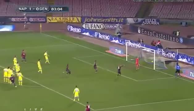 Napoli vs Genoa 1-1 - TUTTI GOL & HIGHLIGHTS - Series A - 24.02.2014 Video