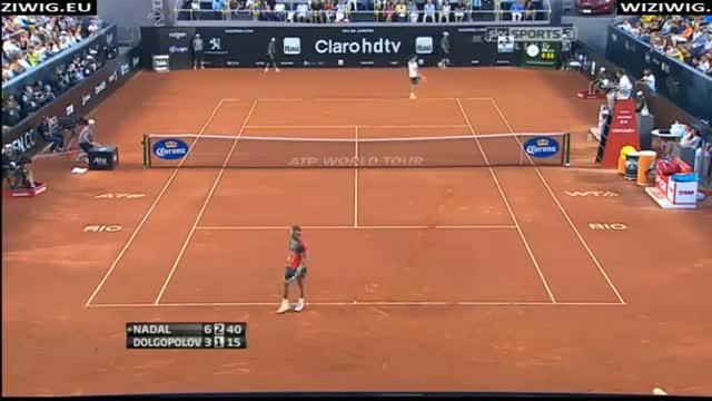 Rafael Nadal vs Alexandr Dolgopolov - ATP 500 Rio De Janeiro Open 2014 FINAL - Highlights