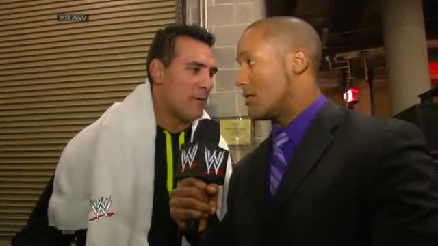 Alberto Del Rio wants a Chance - WWE Raw Fallout - February 24, 2014