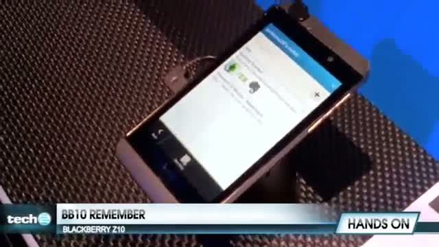 BlackBerry Remember: BlackBerry Z10 - Official How To Demo
