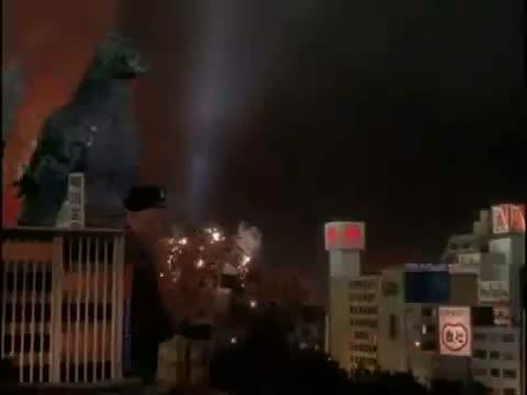 Godzilla Heisei vs. Army
