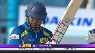 Kumar Sangakkara scores 12000 ODI runs for Sri Lanka (Asia Cup 2014 - 1st ODI, Pak vs SL)