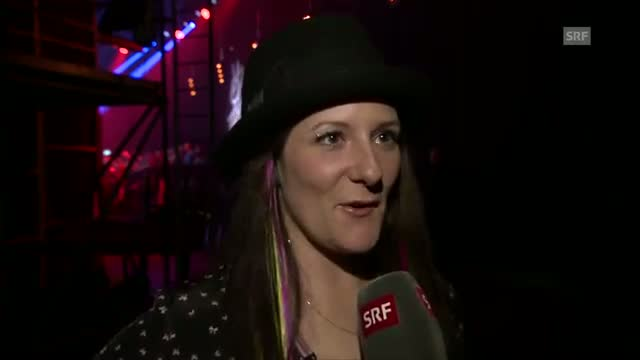 Interview mit Nadine nach der Blind Audition - The Voice of Switzerland 2014