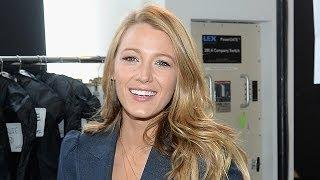 "Get BLAKE LIVELY's ""R"" Initial Necklace Look for Yourself!"
