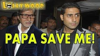 Abhishek Bachchan SAVED By Paa Amitabh Bachchan