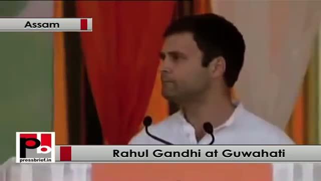 Rahul Gandhi: BJP makes mockery of the people