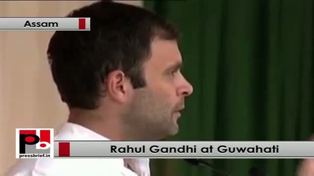 Rahul Gandhi: Congress helped 15 crore people to came out of poverty in last ten years