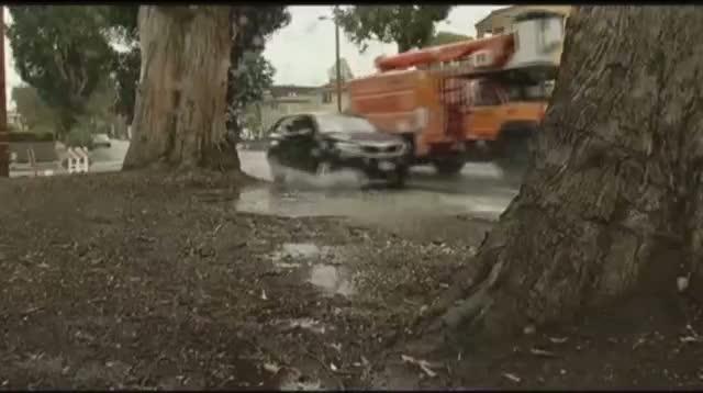 Rain Hitting Drought-Stricken California