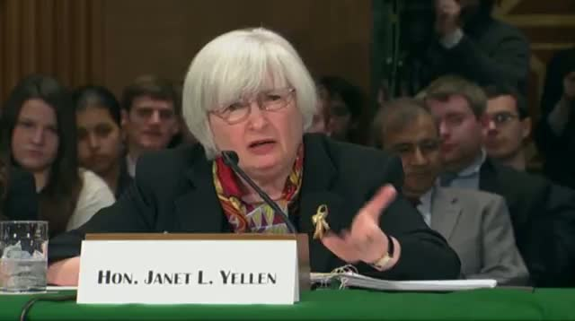 Yellen: Fed Monitors Recent Weaker Economic Data