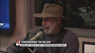 Popular comedian Tim Wilson dies