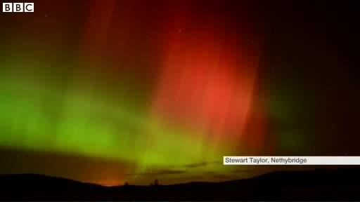 UK Northern Lights 'spectacular'